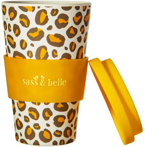 Leopard Love Bamboo Coffee Cup