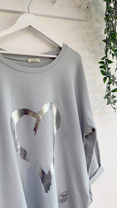 Zita Cotton Heart Top