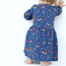 Load image into Gallery viewer, Fred & Noah Kaleidoscope Reindeer Dress