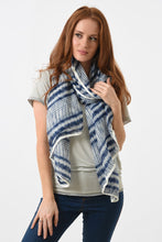 Load image into Gallery viewer, Tie Dye Pom Pom Scarf