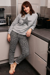 Athena Cotton Blend Loungewear Trousers