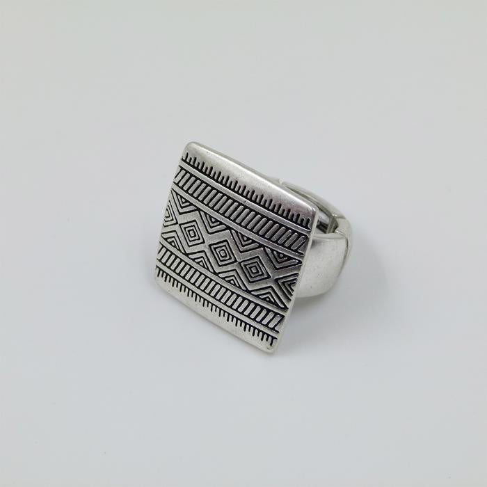 Tribal Patterned Ring