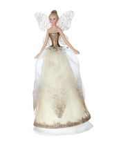 Load image into Gallery viewer, Gisela Graham Fairy Christmas Tree Topper