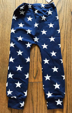 Load image into Gallery viewer, Fred & Noah Navy Star Leggings