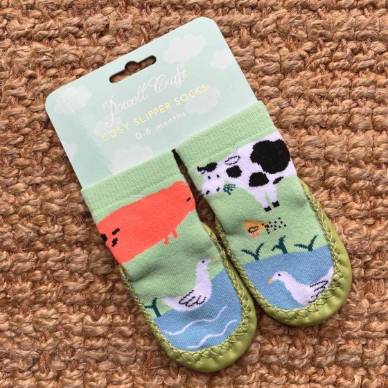 Powell Craft Farmyard Moccasins