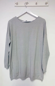 Pearl Button Back Jumper