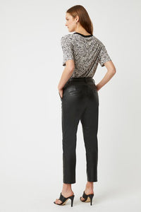Great Plains Clayton Luxe  Faux Leather Trousers