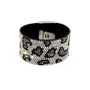 Crystal Animal Print Bracelet