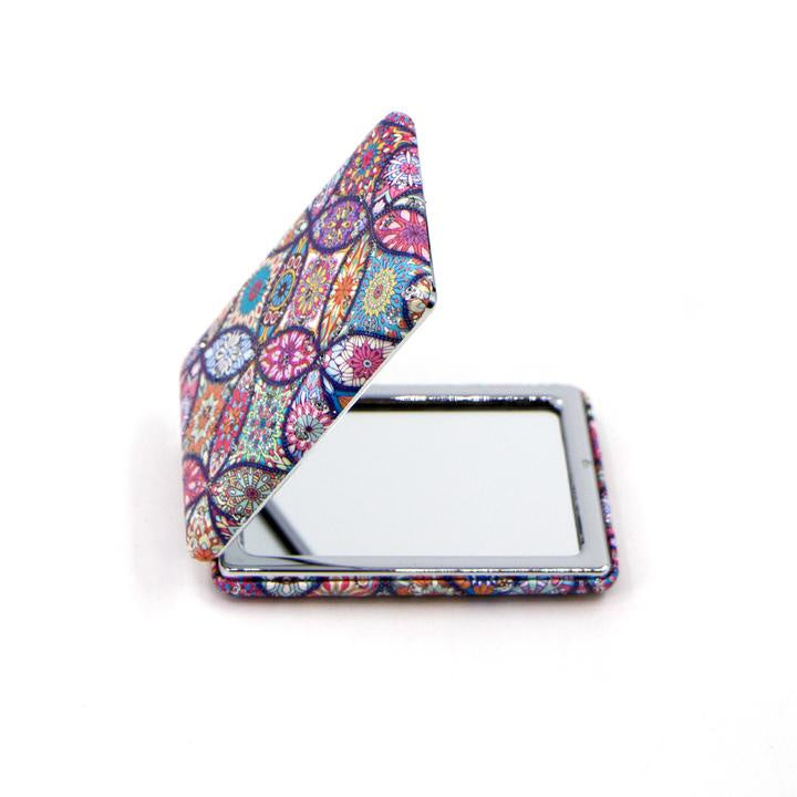Crystal Patterned Compact Mirror