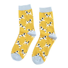 Load image into Gallery viewer, Miss Sparrow Printed Bamboo Socks