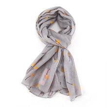 Load image into Gallery viewer, Tulip Doodle Scarf