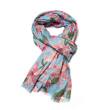 Load image into Gallery viewer, Lily Print Scarf