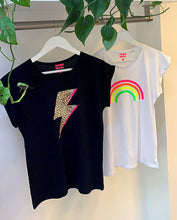 Load image into Gallery viewer, Neon Marl Neon Rainbow Cotton Tee