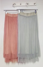 Load image into Gallery viewer, Carrie Plain Tulle Skirt