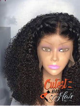 Load image into Gallery viewer, Front lace - deep curly wig