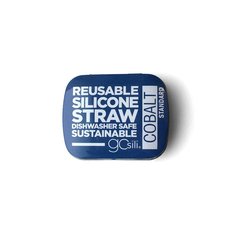 Silicone Straw in a Tin