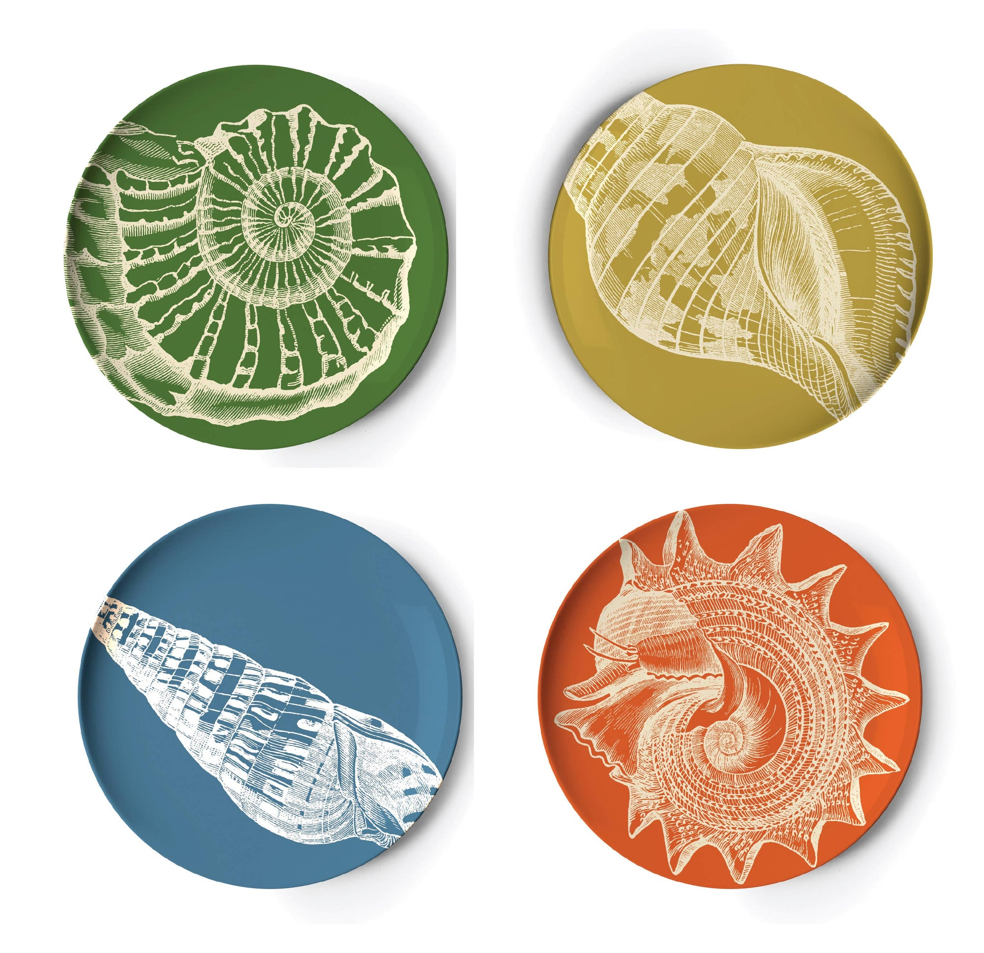 Sealife Coaster Set