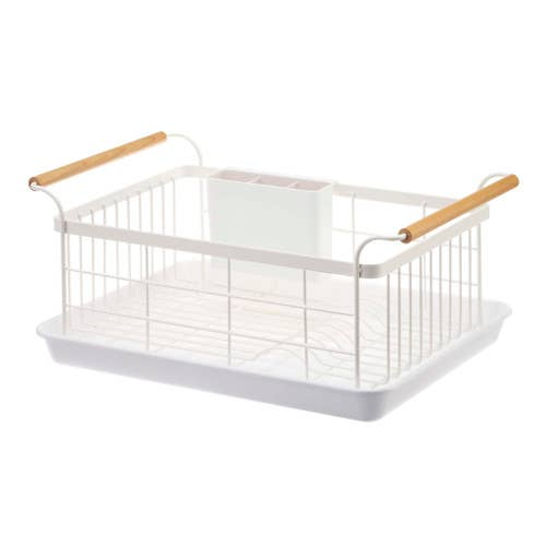 Tosca Dish Drainer Rack White