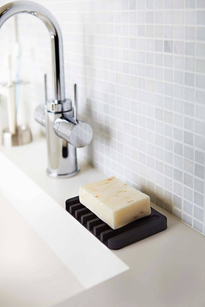 Angled SILICONE SOAP TRAY