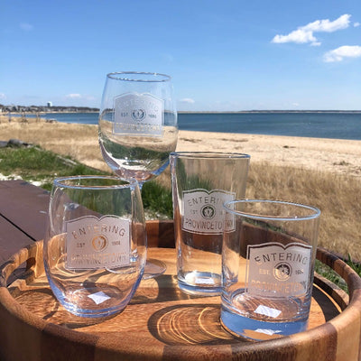 Entering Provincetown Glassware