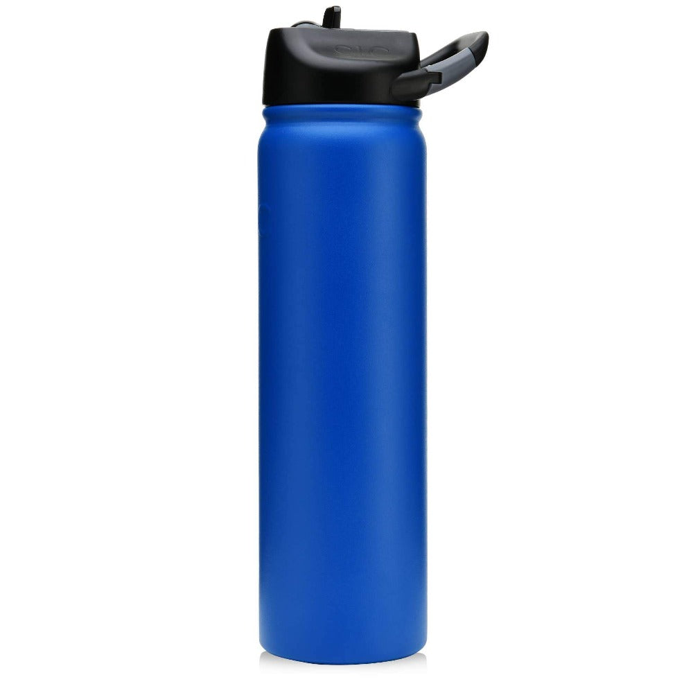 27 oz Matte Deep Blue SIC Stainless Steel Water Bottle