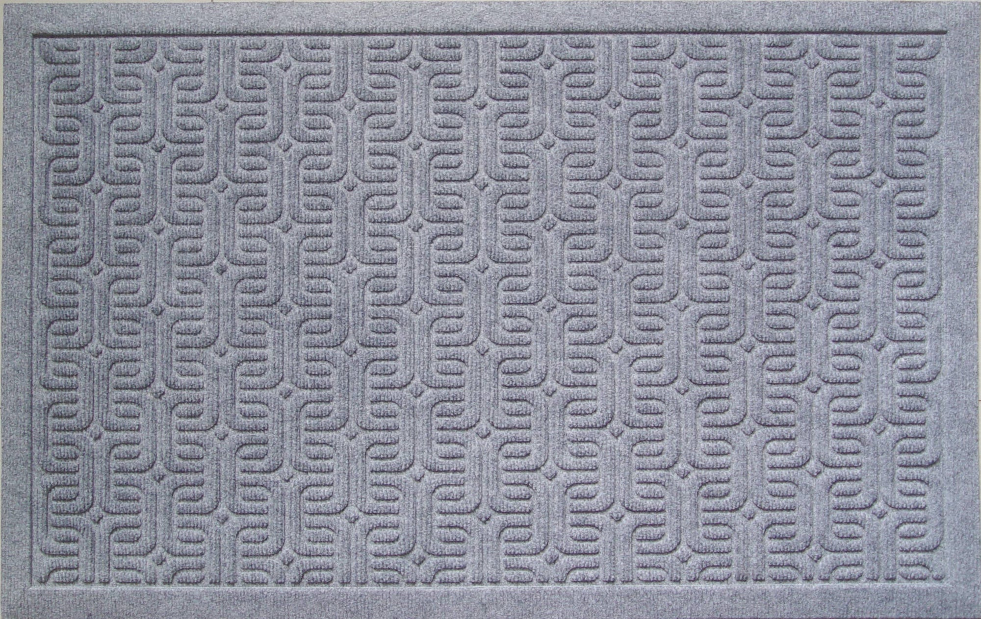 Entryways Doormats - Geometric Pattern Weather Beater Polypropylene Mat