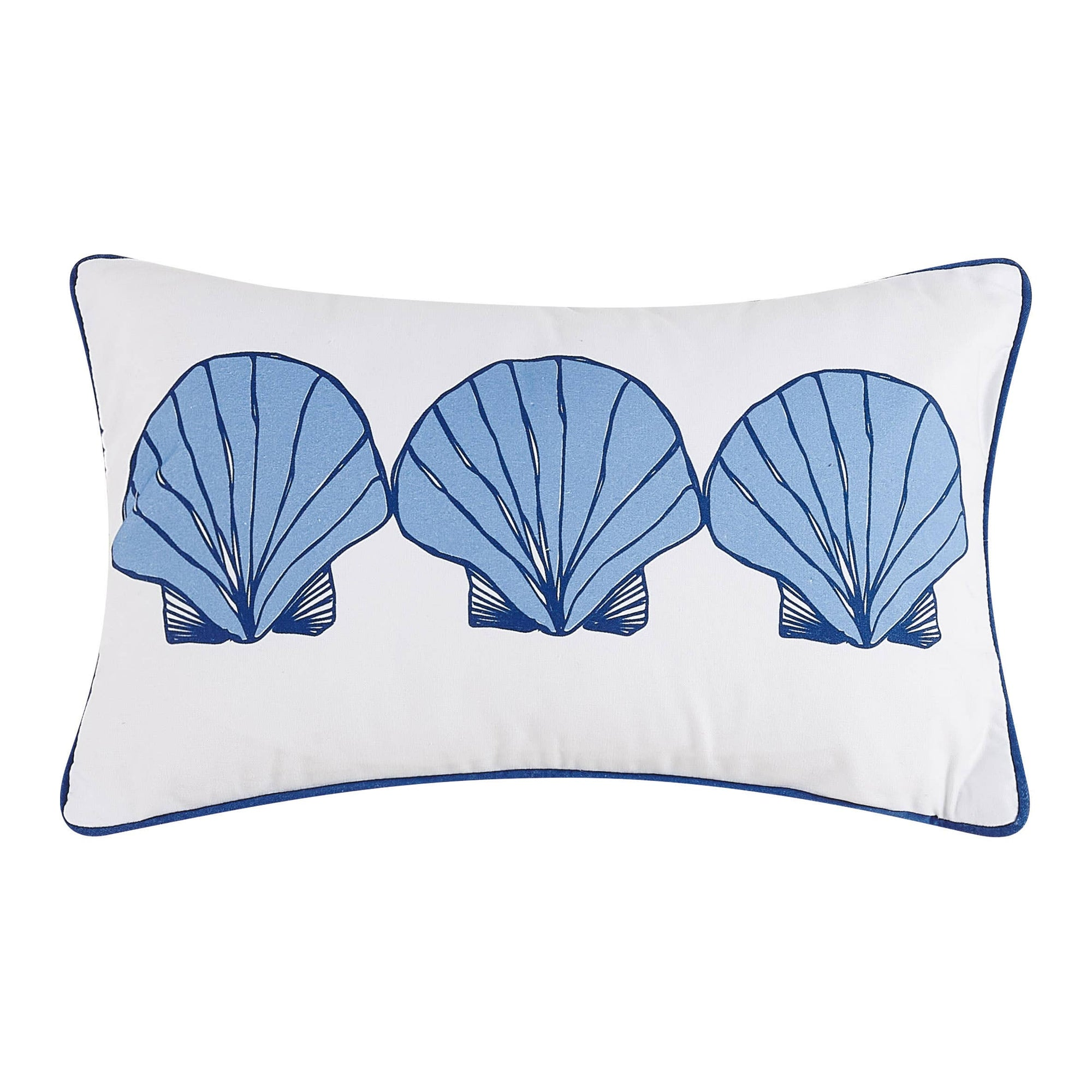 Scallops Printed Pillow Small