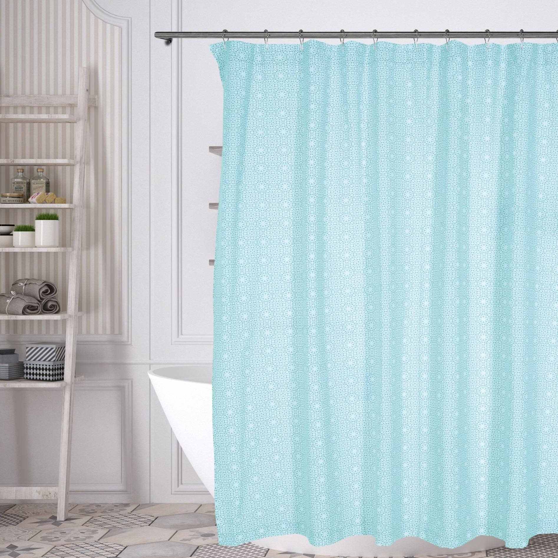 Medallion Cotton Shower Curtain