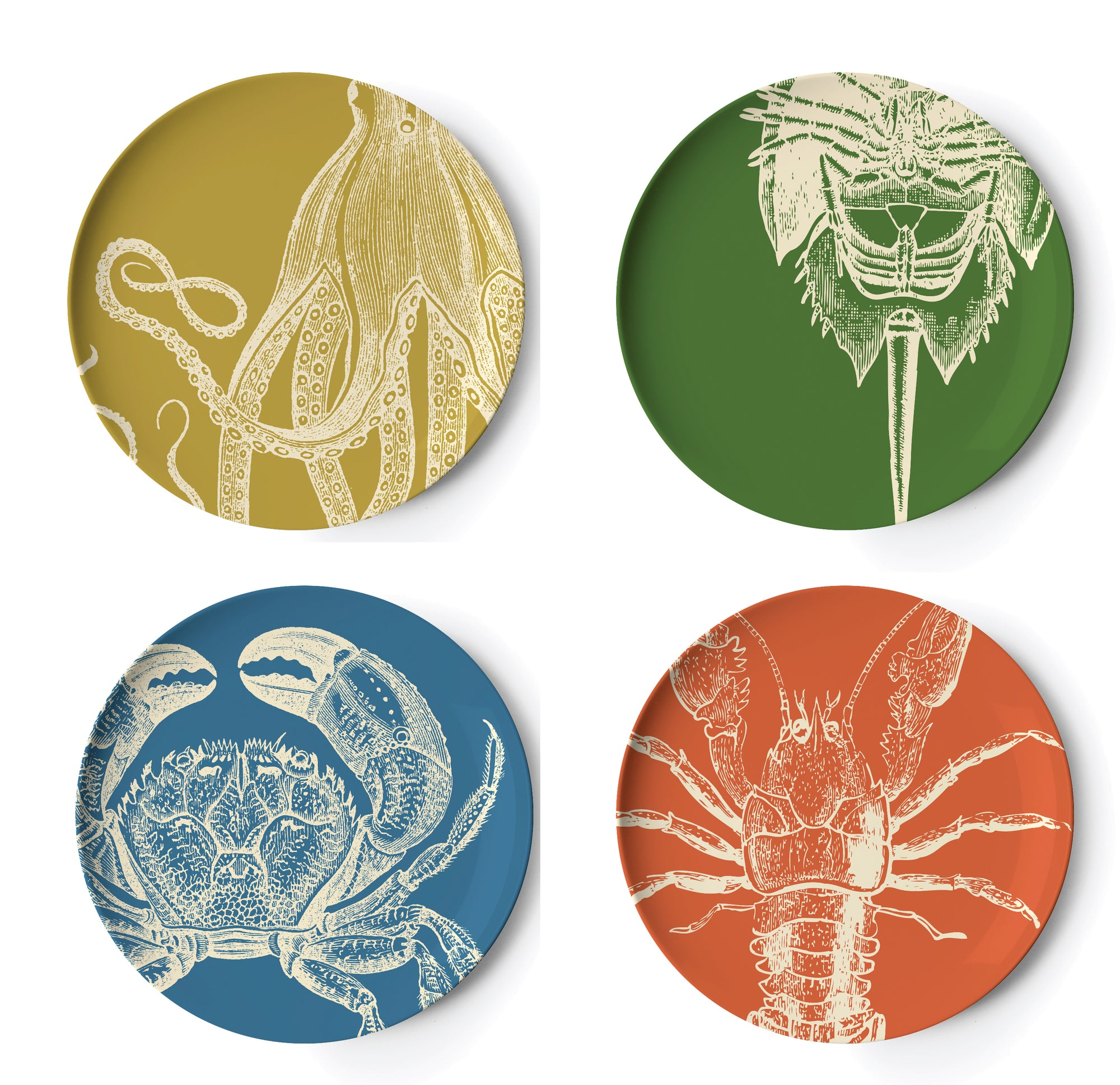 THOMASPAUL - Sealife Dinner Plate Set