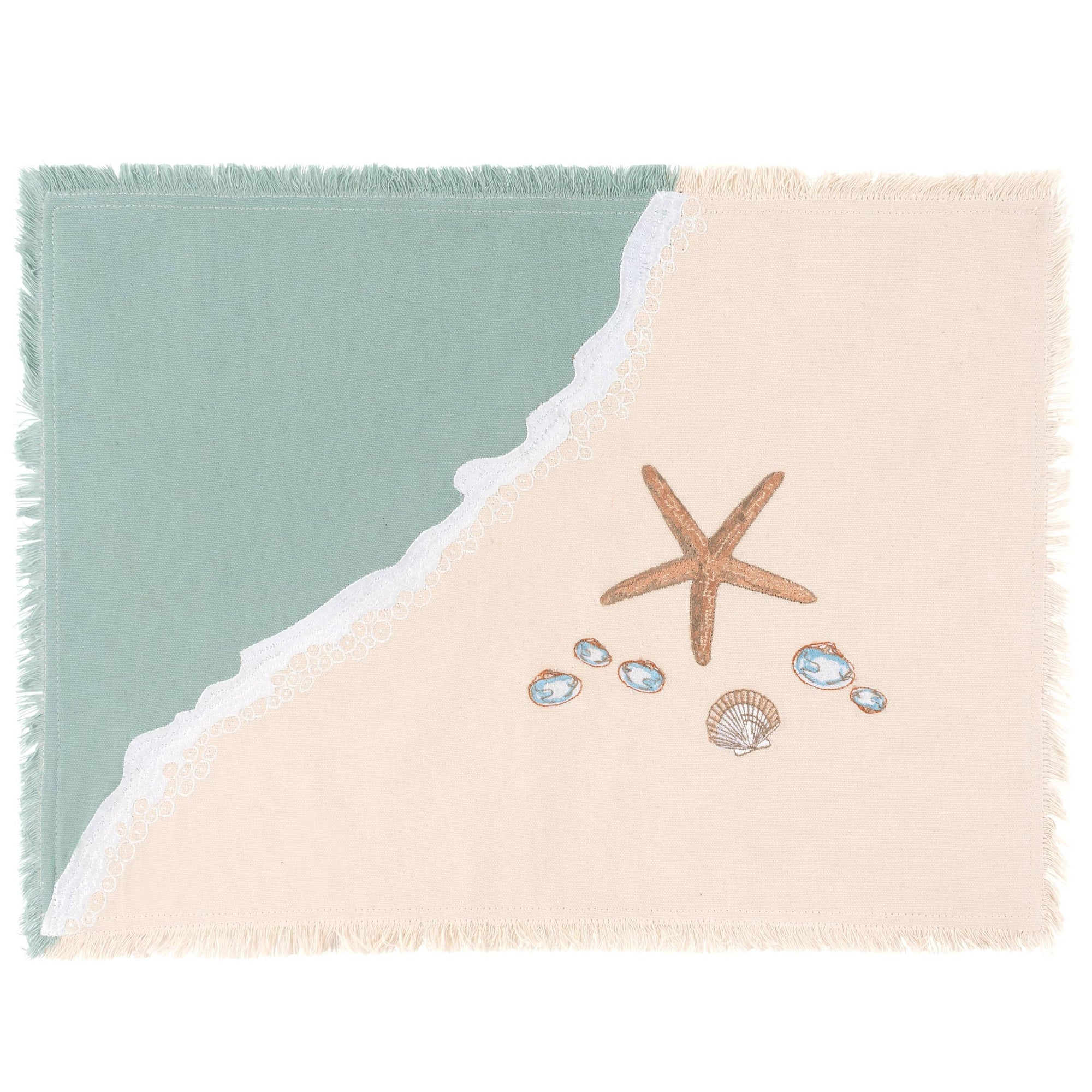 Shells and Sand Placemat