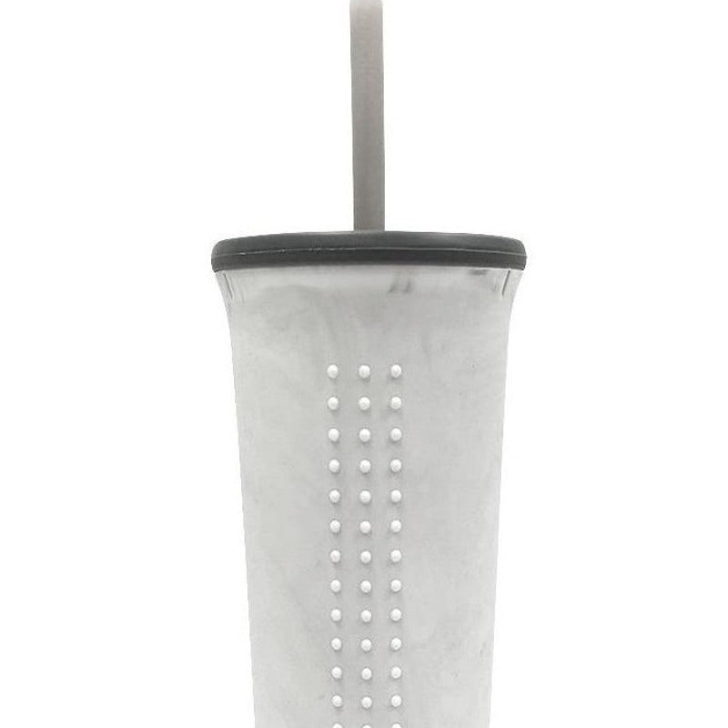 24oz Silicone Straw Cup - Marble Collection
