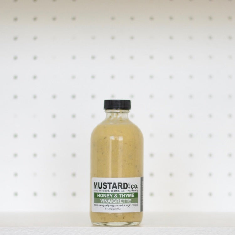 Mustard and Co. - Honey & Thyme Vinaigrette