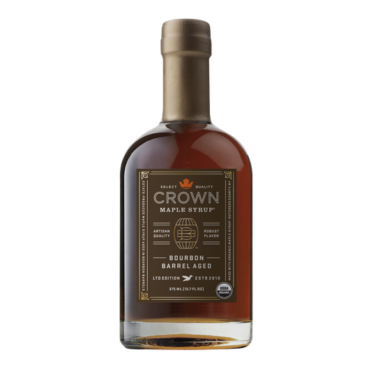 crown maple syrup bottle