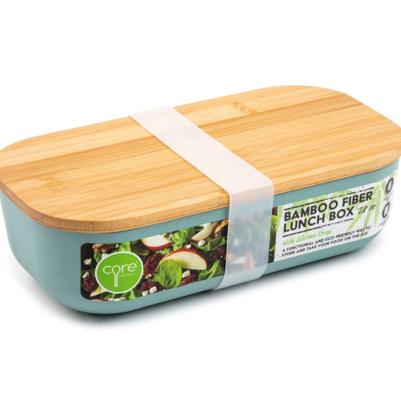 Bamboo Fiber Lunch Box 28oz - color is called Succulent