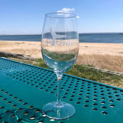 Ptown etched glasses