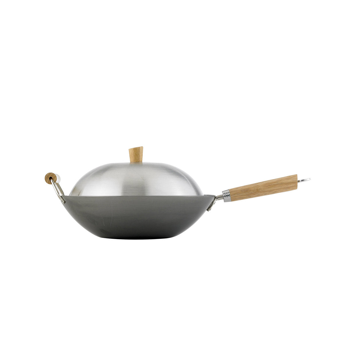 Carbon Steel Wok 4pc Set