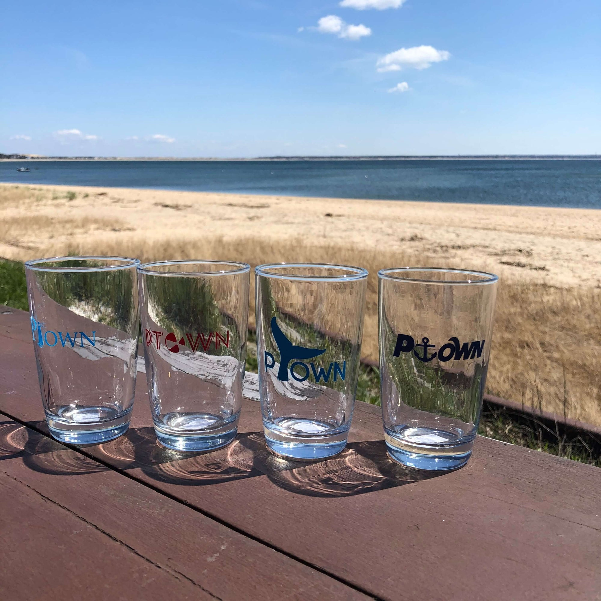 PTOWN JUICE GLASSES