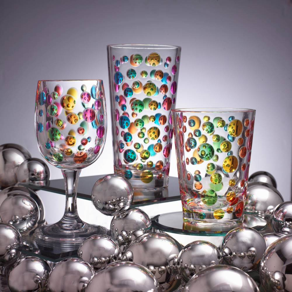 Pearl Rainbow Glasses