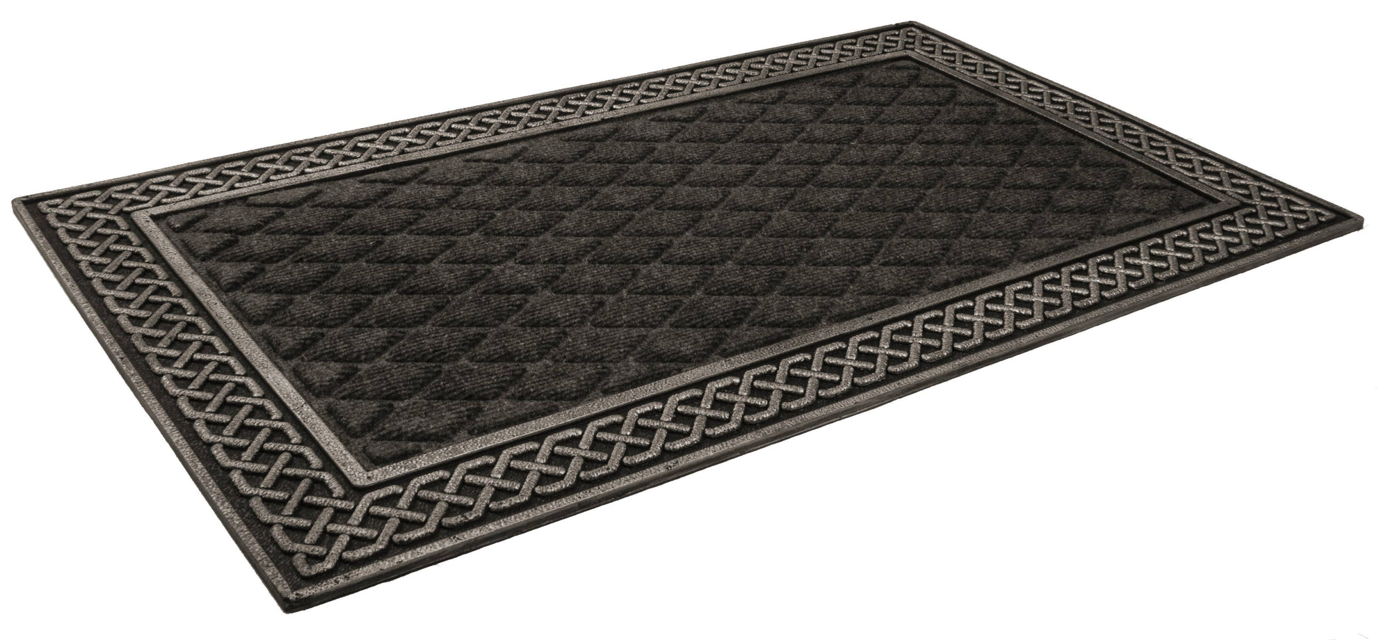 Silver and Gray Weather Beater Polypropylene Mat