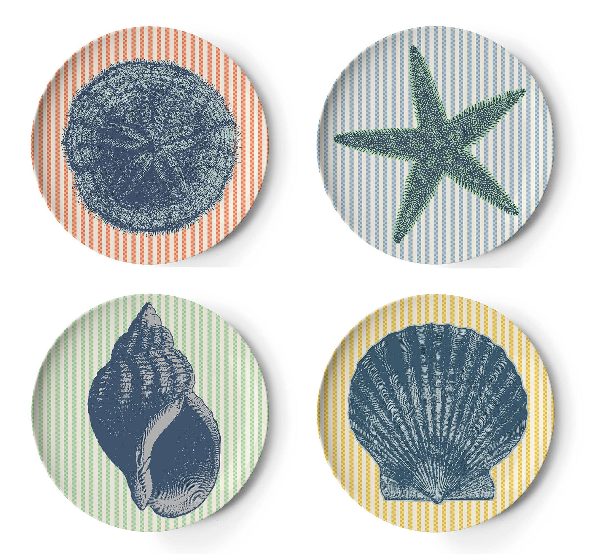 Vineyard Coasters Set of 4