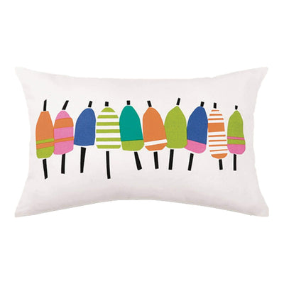 Buoys Printed Pillow Multicolor