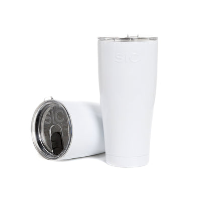 SIC Cups - 30 oz Gloss Ice White