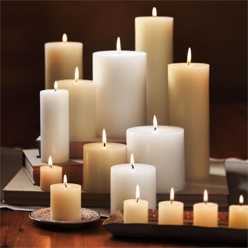 Ivory Chapel Candles