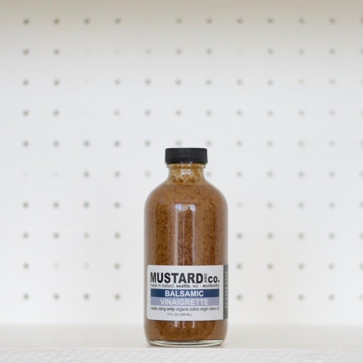 Mustard and Co. - Classic Balsamic Vinaigrette