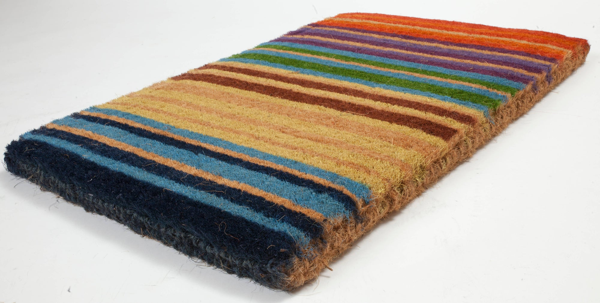 Rainbow Coconut Fiber Doormat