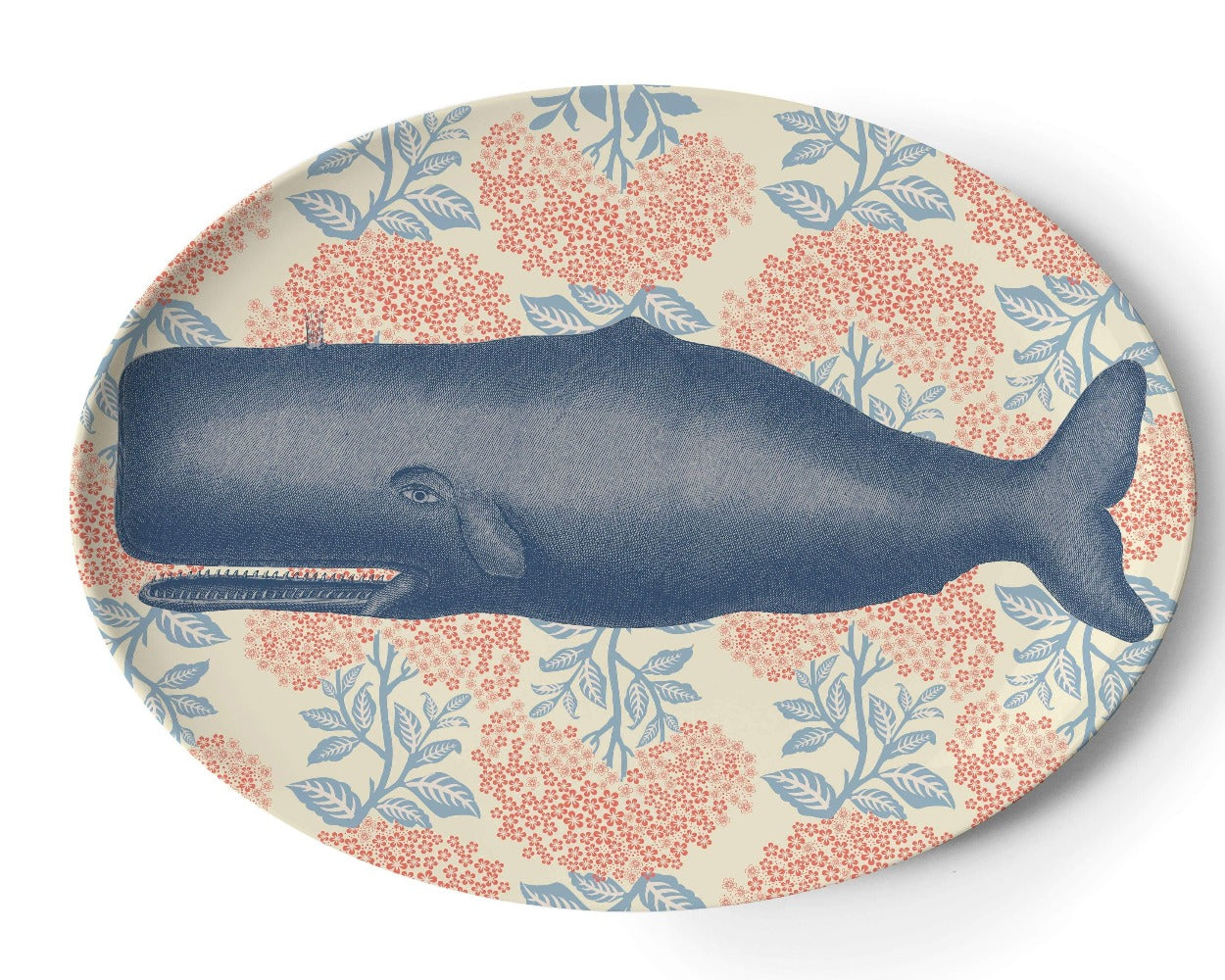 thomas paul vineyard platter whale melamine