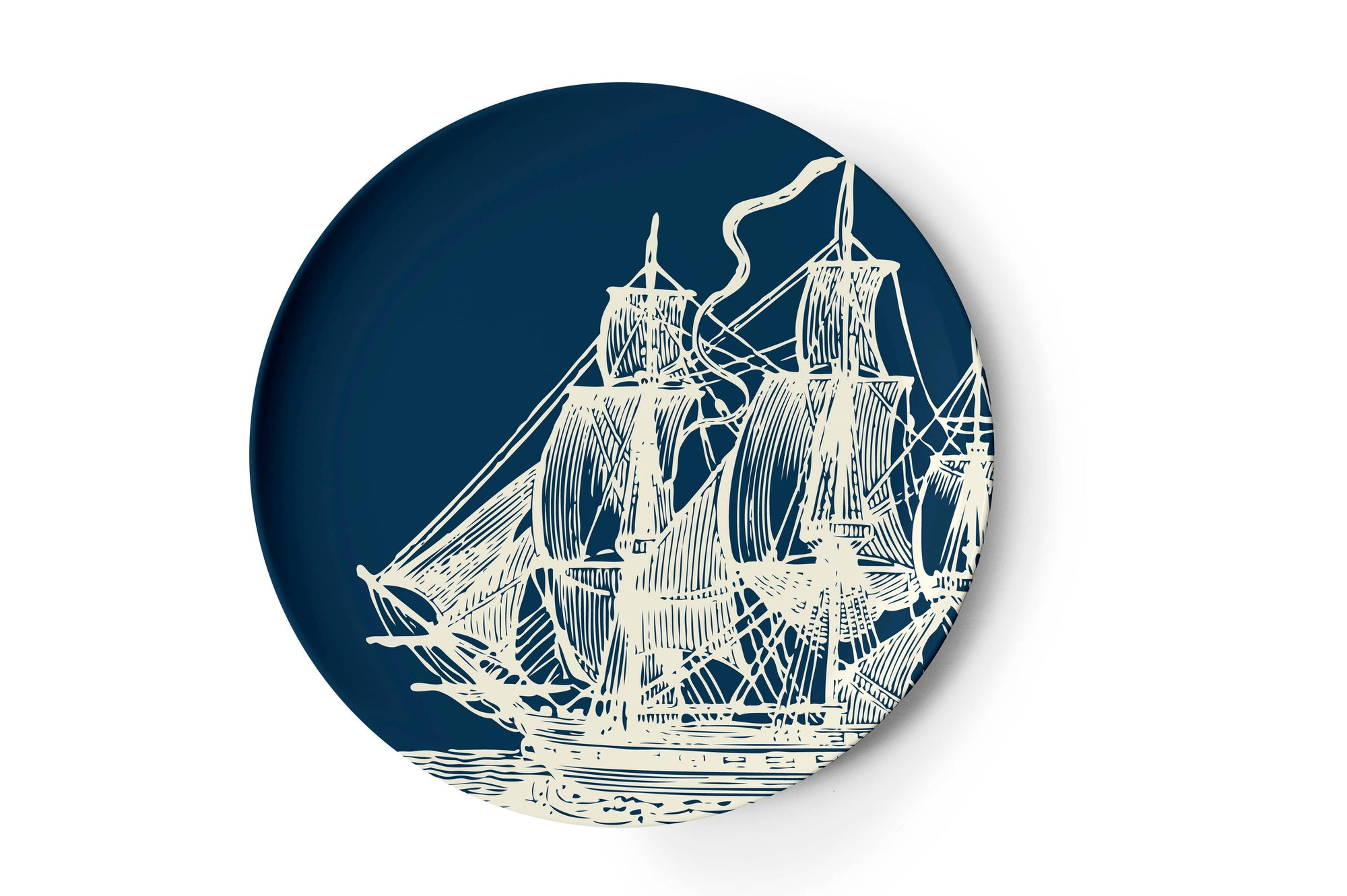 Scrimshaw Dinner Plates Set of 4