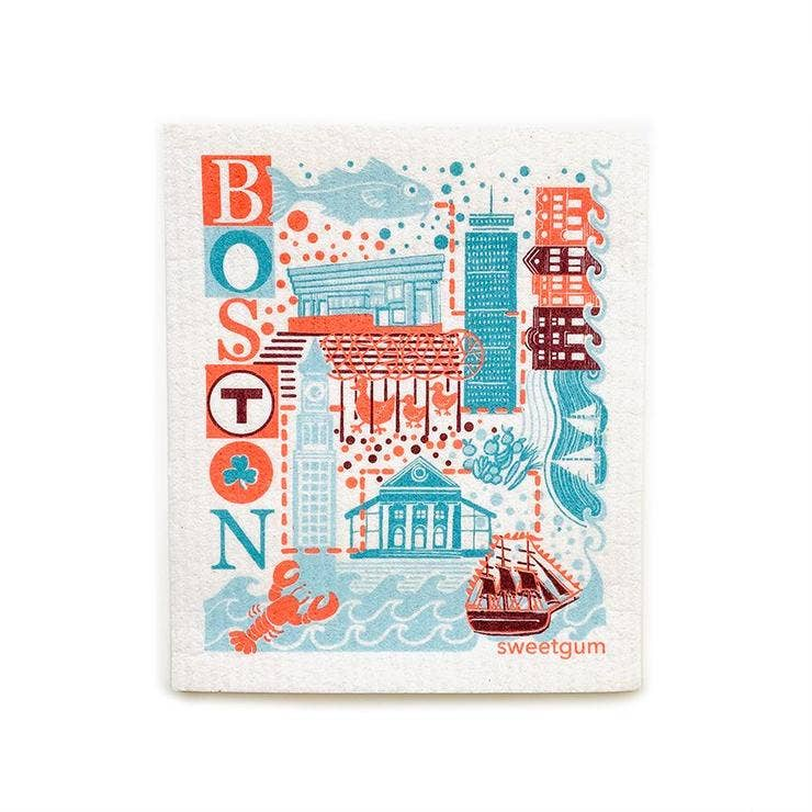 Boston Swedish Dishcloth