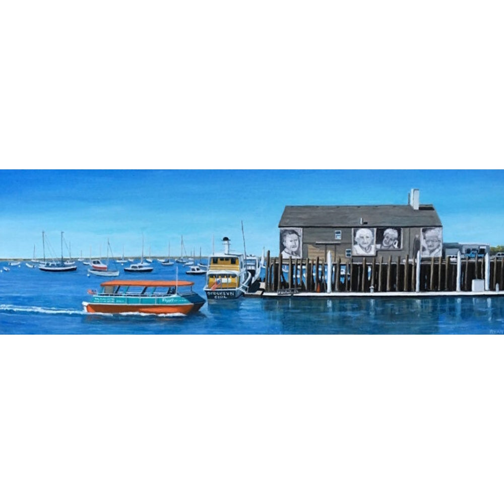 Kate Ryan Art - Flyers boat Ptown