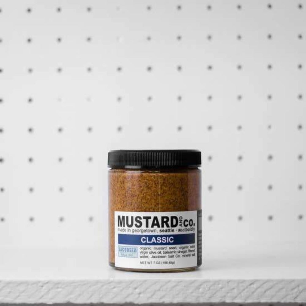 Mustard and Co. - 7 oz Classic Mustard